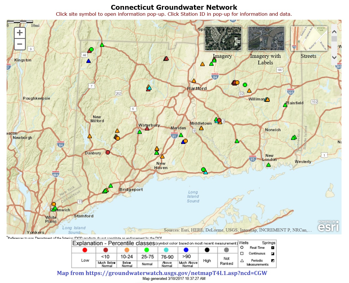 map of CT gw, link to website