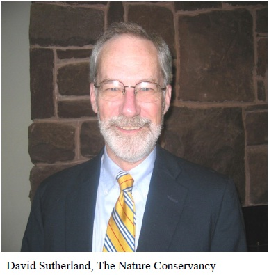 photo of David Sutherland courtesy he Nature Comservancy